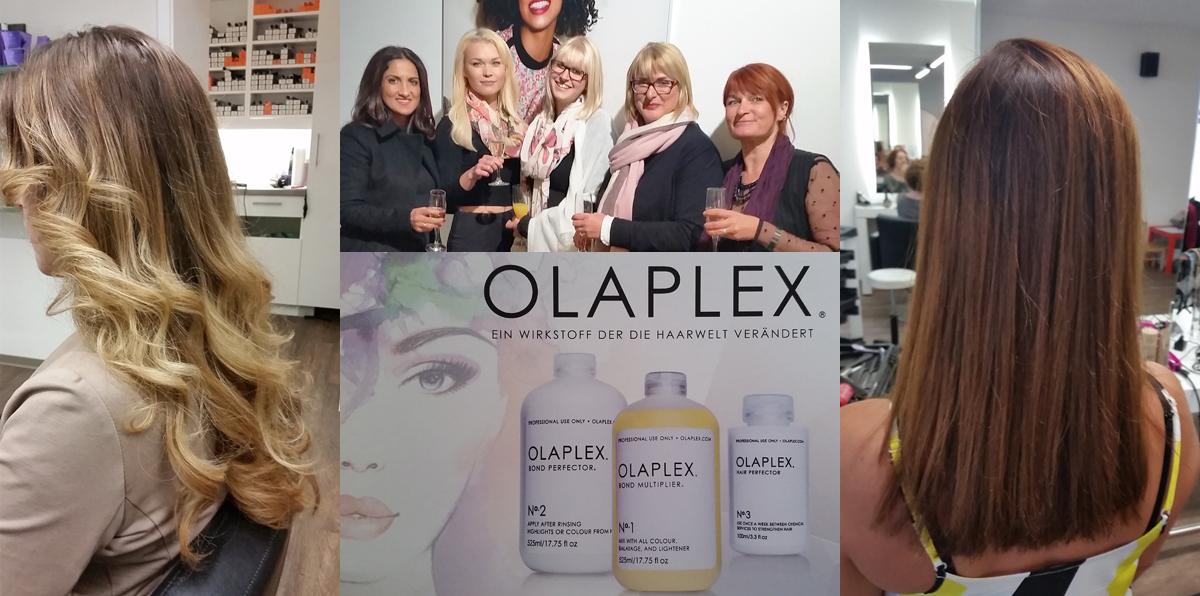 Friseurhandwerk mit OLAPLEX